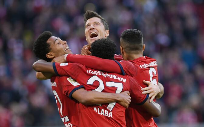 Müncheni Bayerni mängijad