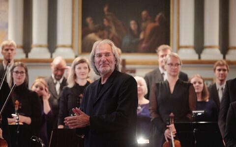 Dirigent Tõnu Kaljuste.