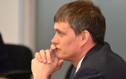 Мэра Нарвы Алексей Евграфов.