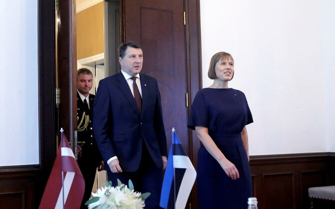 Раймондс Вейонис и Керсти Кальюлайд.