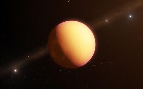 Tähe ümber tiirlev planeet on Jupiterist raskem.
