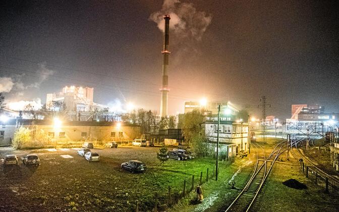 Kivisöekaevandus Poolas.