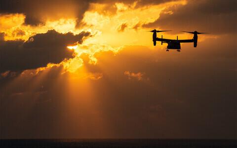 Pööratava rootoriga MV-22B Osprey edasiarendused võiksid jõuda ka tsiviilkasutusse