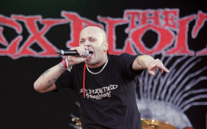 The Exploited 2005. aasta Rabarockil.