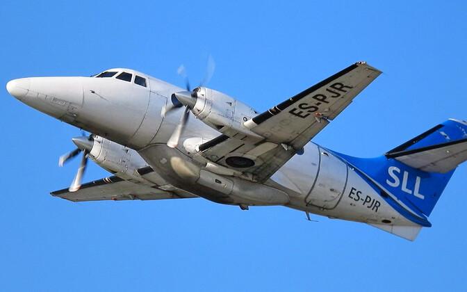 Самолет Transaviabaltika  Jetstream 32.