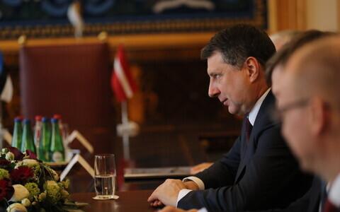 Визит президента Латвии Раймонда Вейониса в Эстонию.