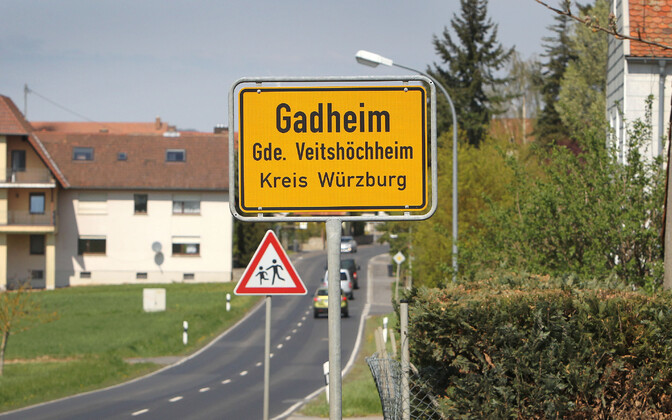 Баварская деревня Гадгейм.