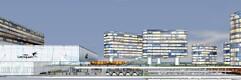 Эскизные планы расширенного Таллиннского аэропорта.