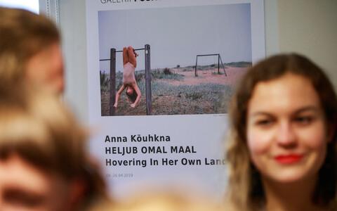 Anna Kõuhkna avas näituse