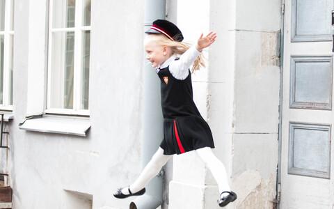 Muu hulgas küsitakse konverentsil, kuidas saab haridus ja teadus muuta Eesti ühiskonda õnnelikumaks, nutikamaks, hoolivamaks? Pildil kooliõhinas tüdruk 1. septembril.