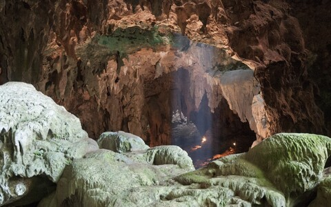 Säilmed tulid päevavalgele Luzose saarel asuvast Callao koopast