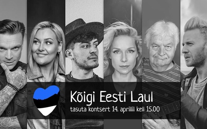 Some of the Kõigi Eesti Laul lineup.