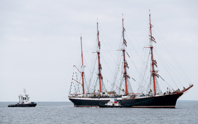 The Sedov on a previous, unhindered, visit to Tallinn in 2018.