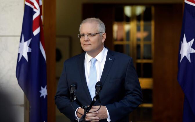 Austraalia peaminister Scott Morrison.