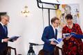 Президент Эстонии Керсти Кальюлайд представила в Кадриоргском дворце сборник своих выступлений.