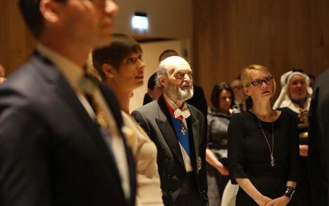 Arvo Pärt pälvis Läti Tunnustusristi teise klassi ordeni