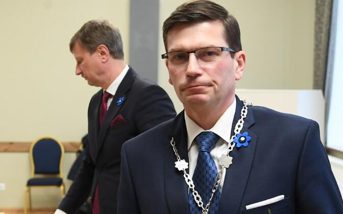 Макса Каура выбрали старейшиной Йыхви.