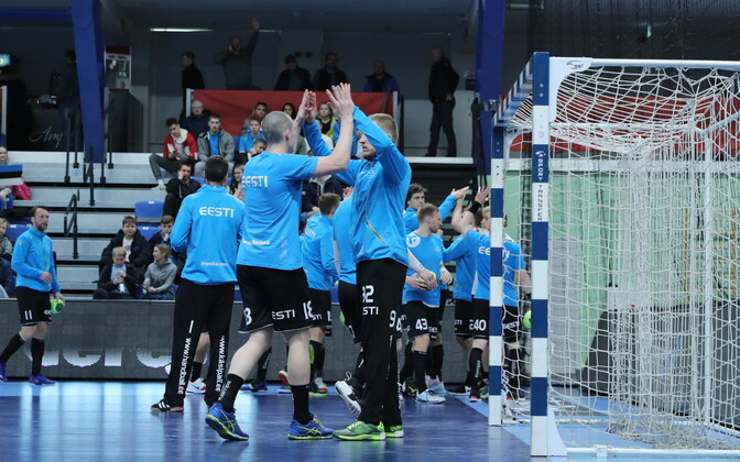 Eesti meeste käsipallikoondis.