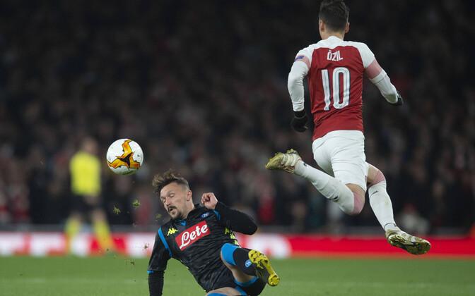 Mesut Özil ja Mario Rui