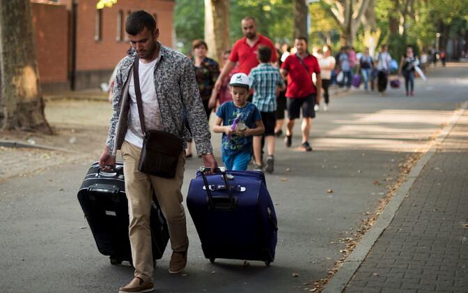 Половина принятых в Эстонии беженцев покинула страну. Иллюстративная фотография.