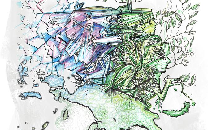 Uut denisi inimese haru leidmist illustreerib maineka teadusajakirja Cell esikaanel Eesti kunstnik Markus Kasemaa. Kasemaaga on meie teadlased koostööd teinud ka varasemalt, mil tema töö ehtis ajakirja Nature kaant.