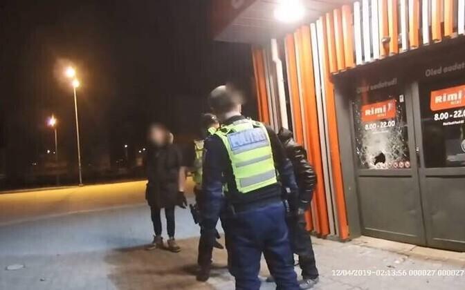Инцидент возле магазина Rimi в Ласнамяэ.