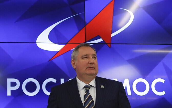 Vene kosmoseagentuuri Roskosmos juht Dmitri Rogozin.