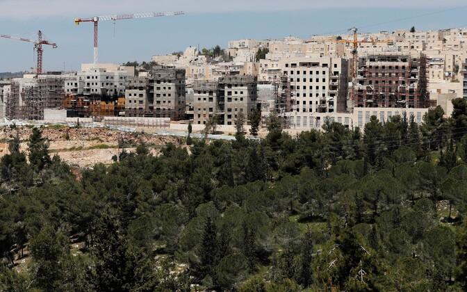 Iisraeli asunduste ehitamine Jeruusalemma idaosas.