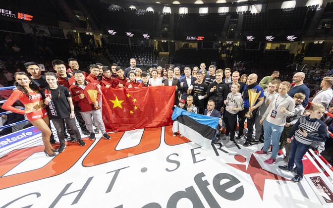 Duel Fighti Eesti vs Hiina võit jäi koju
