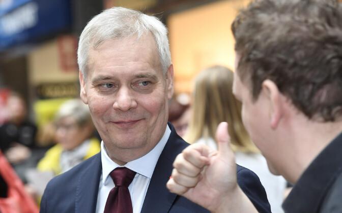 Soome sotsiaadlemokraatide liider Antti Rinne