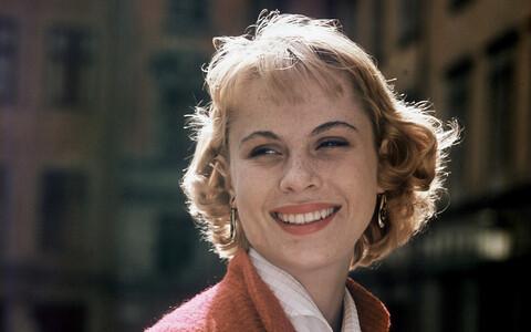 Bibi Andersson (1935-2019) 1963. aastal.