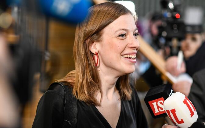 Vasakliidu esinumber Li Andersson tegi Soome valimistel teise tulemuse.