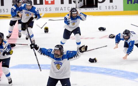 Soome jäähokinaiskond jõudis juba MM-kulda tähistada, kuid lõpuks pidid nad hõbedaga leppima.