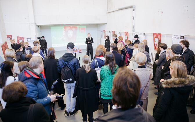 58. Veneetsia biennaali Eesti paviljoni näituse esitlushommik