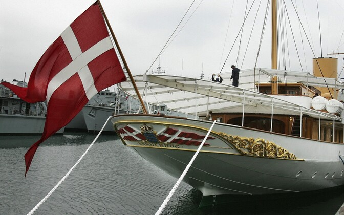 Queen Margrethe II will arrive in Tallinn on the HDMY Dannebrog (A540).