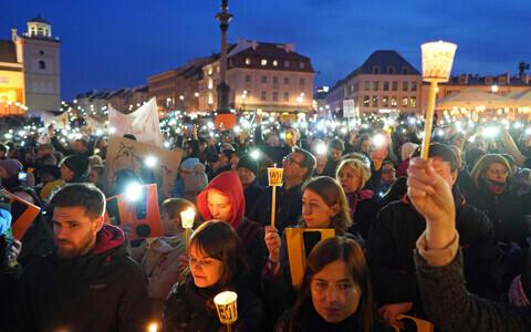 Польские педагоги требуют 30-процентного повышения зарплат.