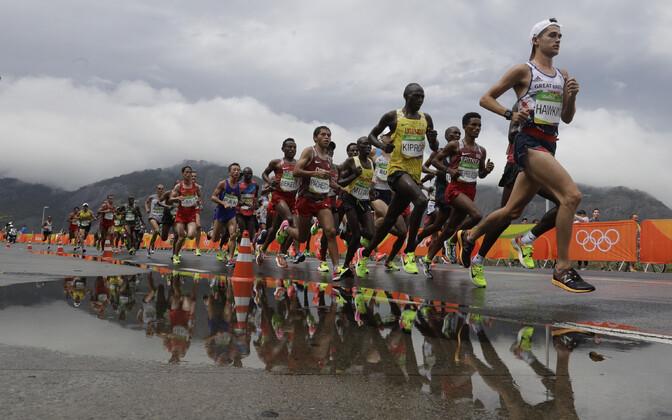 Maratoonarid Rio olümpial