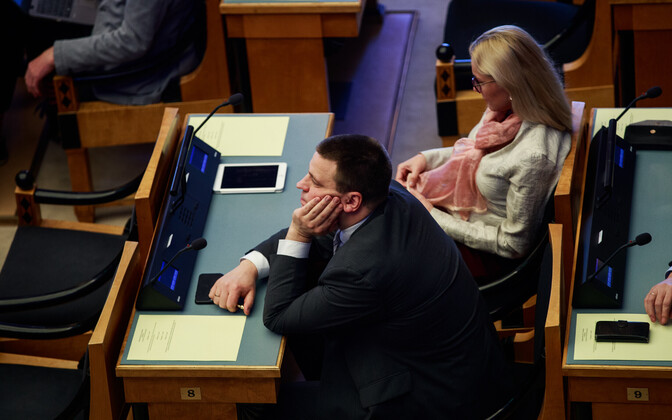 Centre chairman Jüri Ratas had to wait his turn as Reform chairwoman Kaja Kallas was given the opening opportunity to attempt to form a government by President Kersti Kaljulaid.