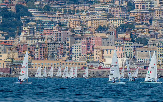 Purjetamise MK-etapp Genovas