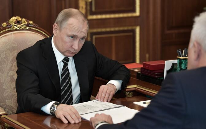 Vene president Vladimrir Putin.