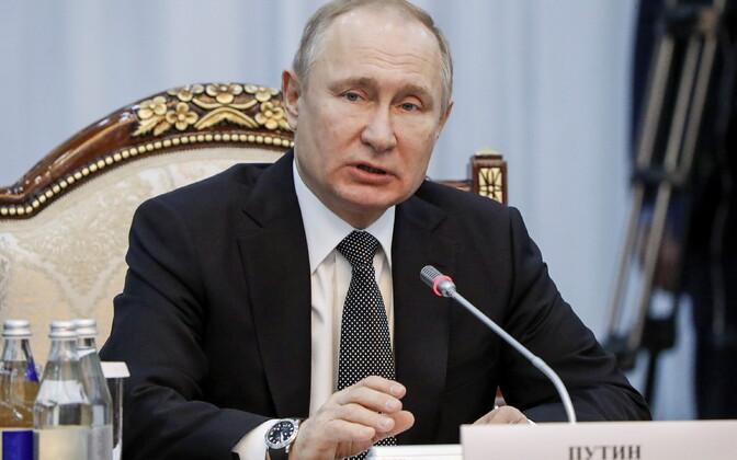 Что же скажет Владимир Путин своей эстонской коллеге?