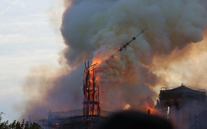 Собор Парижской Богоматери собираются восстановить за пять лет.