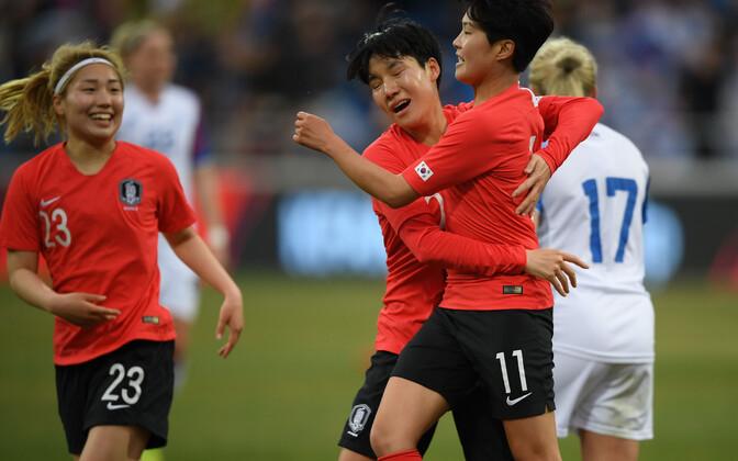 Lõuna-Korea jalgpallinaiskond
