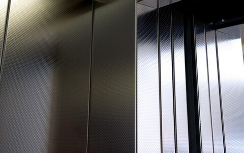 Näitus asub liftis