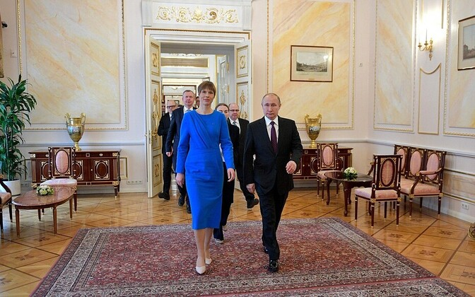 9b7b269145b At a glance: Presidents Kaljulaid, Putin discuss Estonian-Russian ...