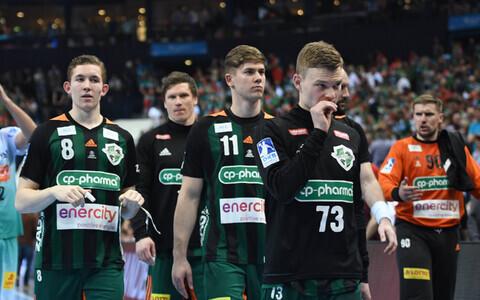TSV Hannover-Burgdorfi mängijad.