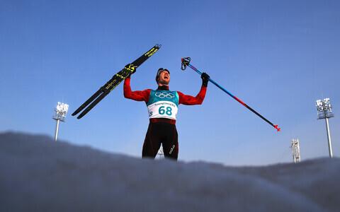 Швейцарсий лыжник Дарио Колонья.