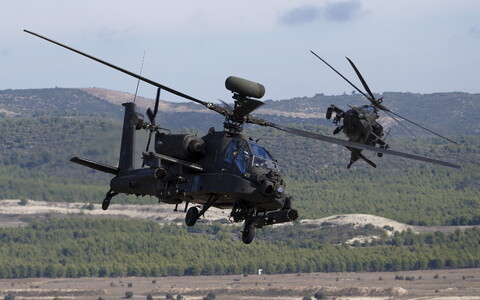 AgustaWestland Apache attack helicopter,