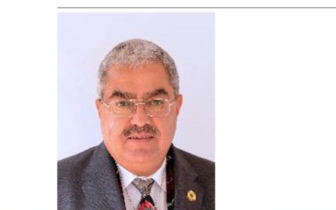 Почетный консул Эстонии в Гане Набиль Макрам Басбу.