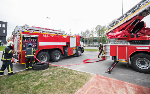 The Estonian Rescue Board's fire engines (picture is illustrative).